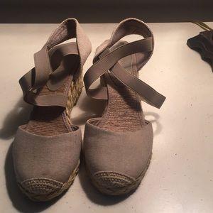 Espadrille canvas shoe